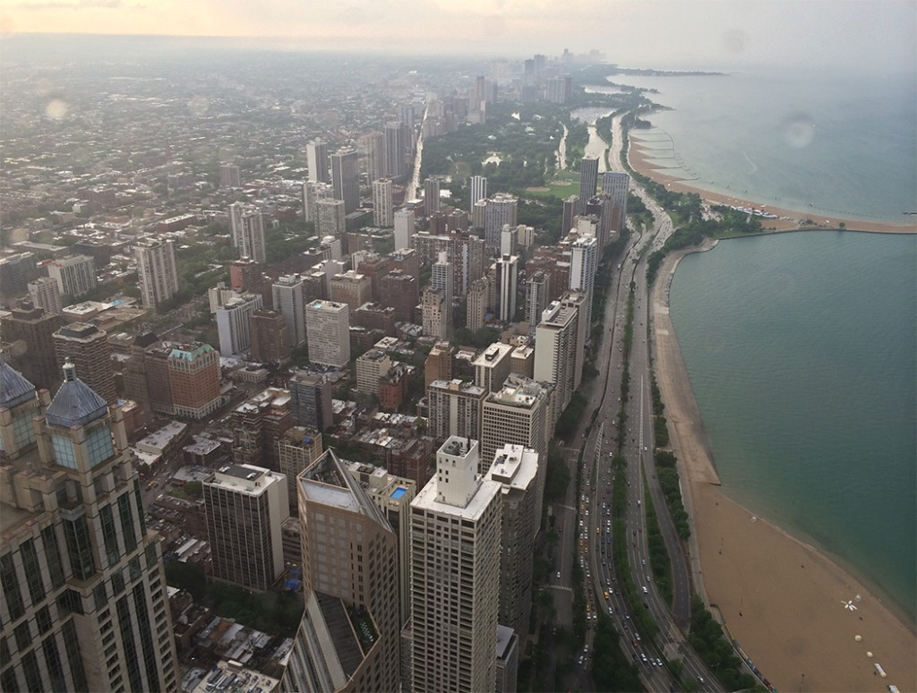 View from 96 Floors Above Chicago