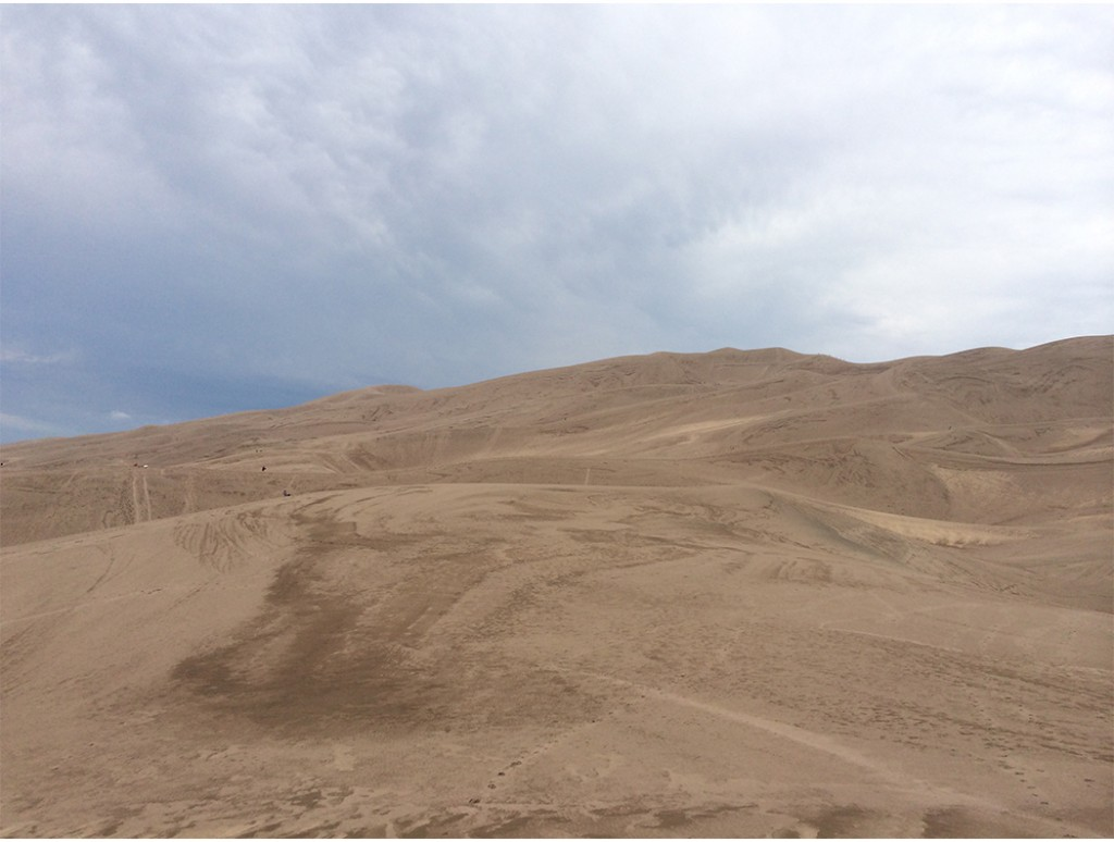 The sand dunes of Colorado.